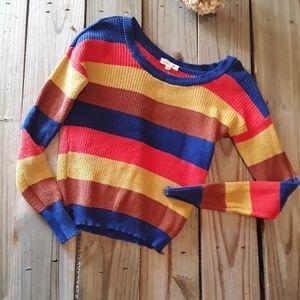 Mine striped crew neck sweater
